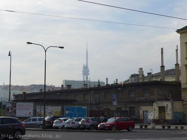 プラハのジシコフのTV塔