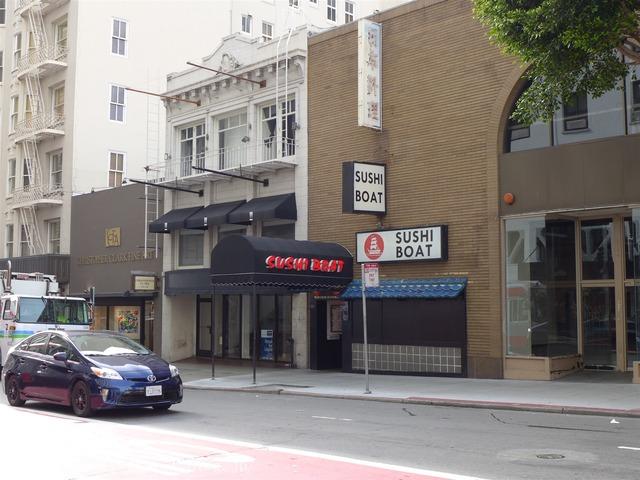 サンフランシスコの寿司屋