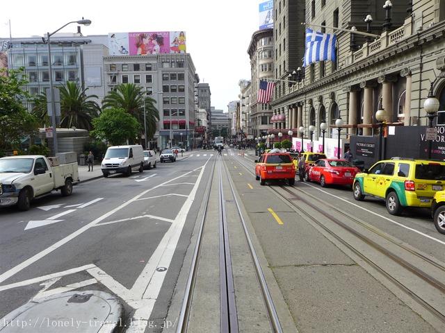サンフランシスコのケーブルカー3