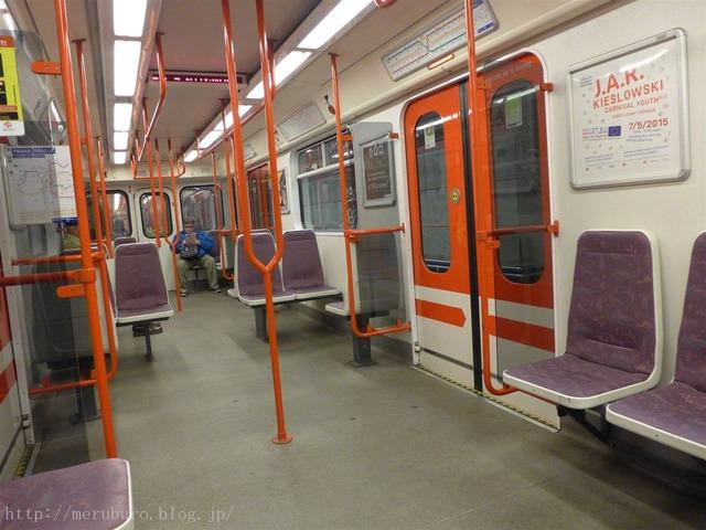プラハの地下鉄