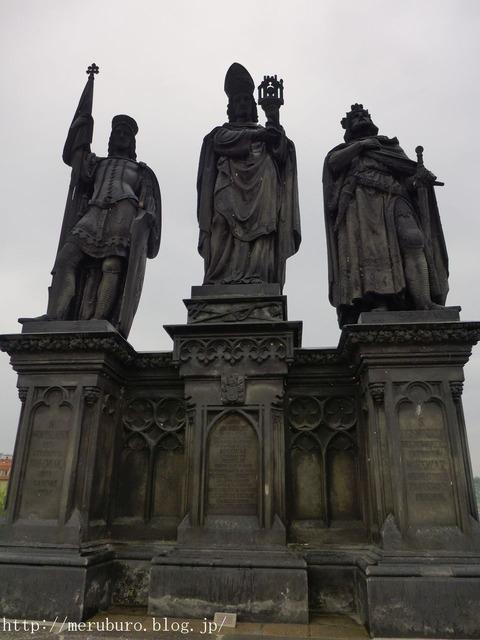 09_聖ノルベルト、ヴァーツラフ、ジギスムント像