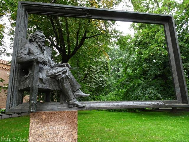 ヤン・マテイコ The statue of Jan Matejko