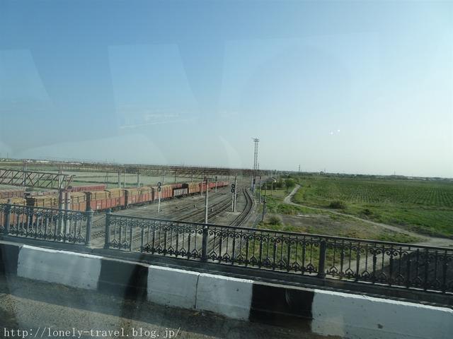 ウズベキスタンの線路