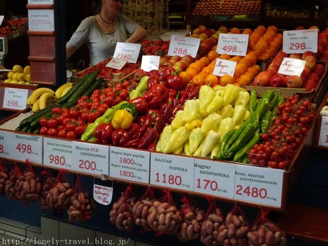ブダペスト中央市場 Vasarcsarnok