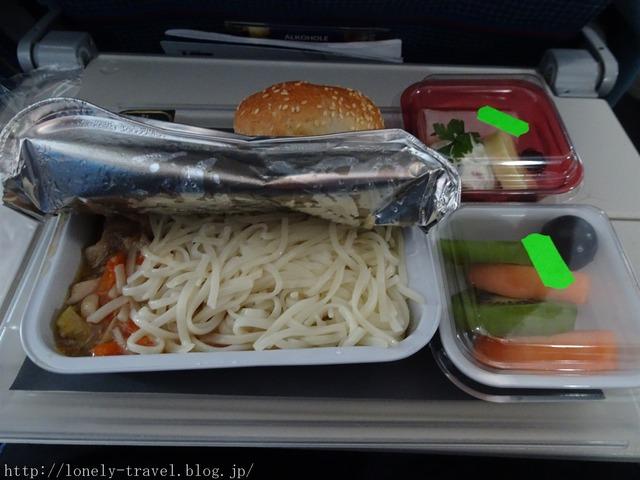 ポーランド航空 食事