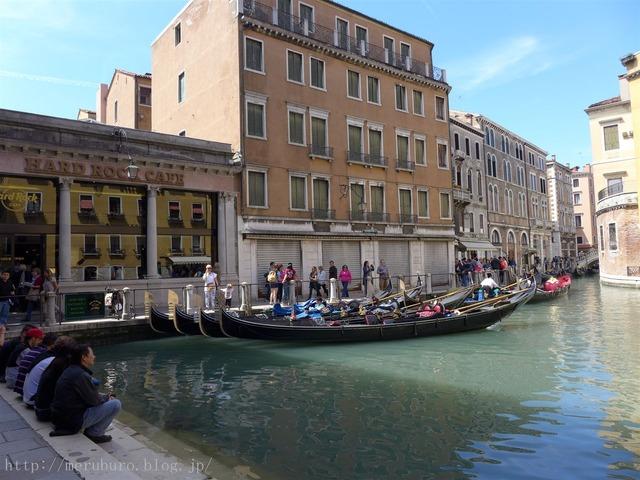 ヴェネツィアのハードロックカフェ