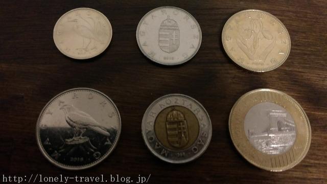 ハンガリーのコイン