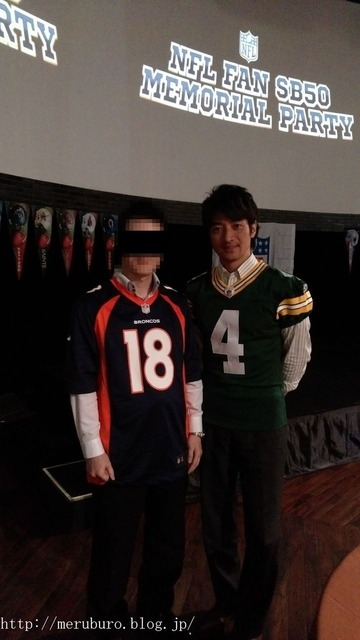 NFL MEMORIAL PARTY@恵比寿アクト・スクエア
