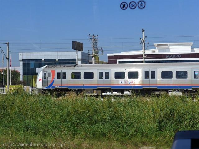 トルコの列車