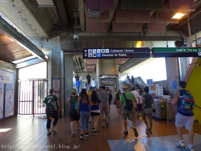BART コロシアム駅 Coliseum