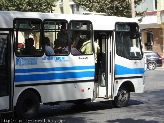 サマルカンド バス