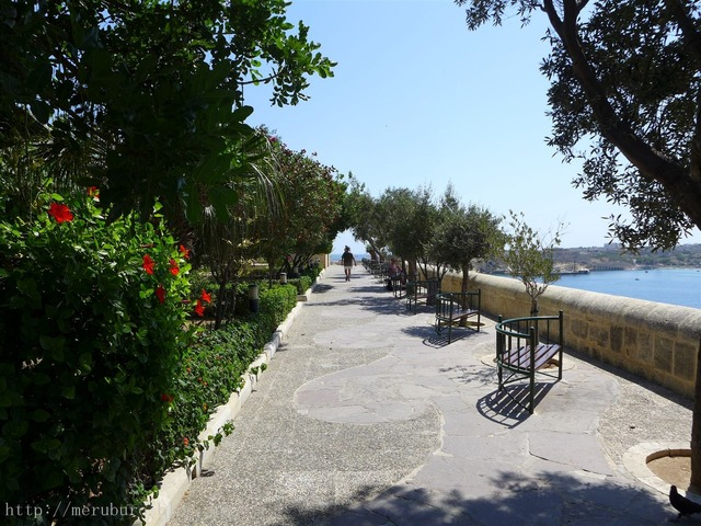 ローワー・バラッカ・ガーデン Lower Barrakka Gardens