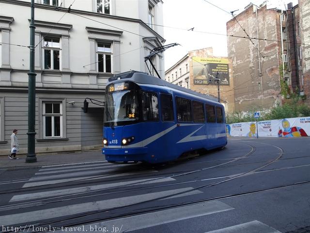 クラクフ KRAKOW トラム