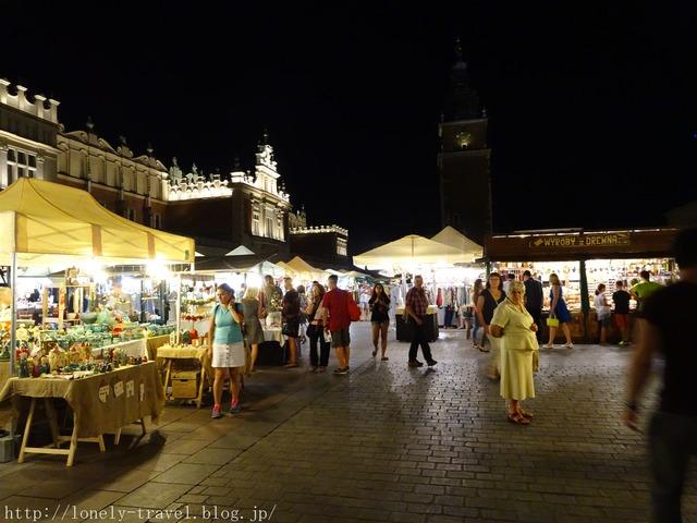 クラクフ中央市場広場 KRAKOW
