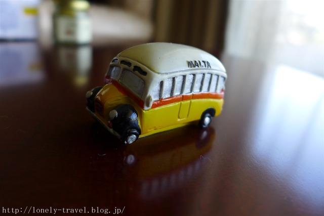 マルタのお土産 マルタバス