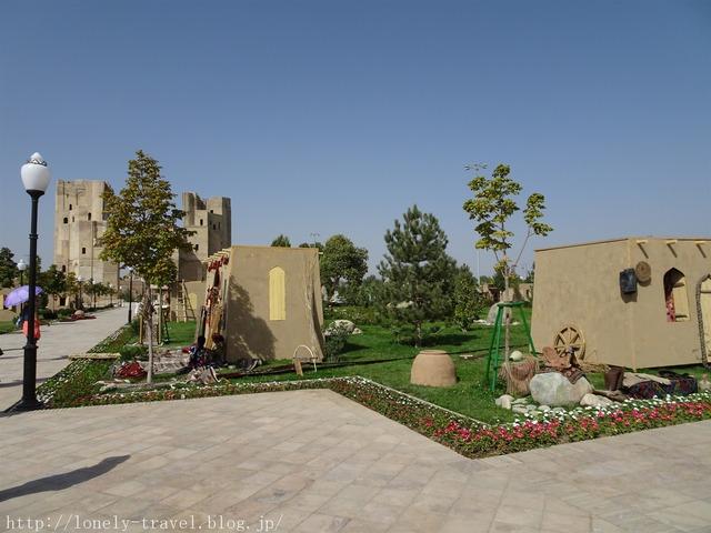 アク・サライ宮殿跡