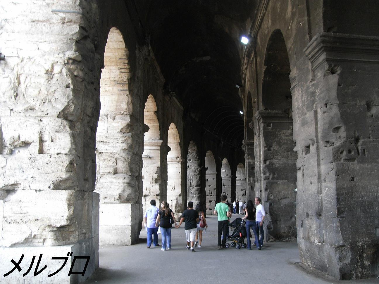コロッセオの入り口