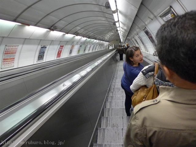 プラハの地下鉄 Prague Metoro