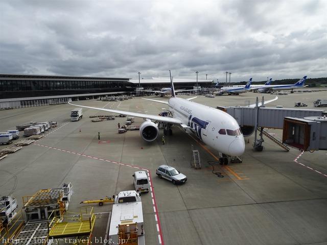 成田空港 ポーランド