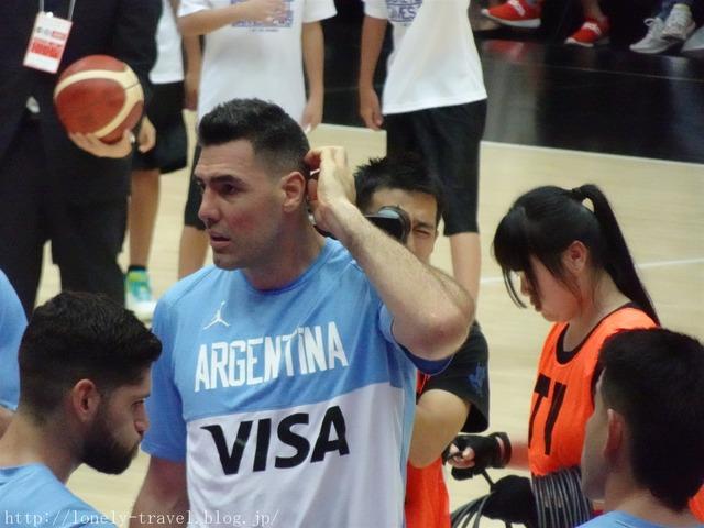 バスケ アルゼンチンVS日本