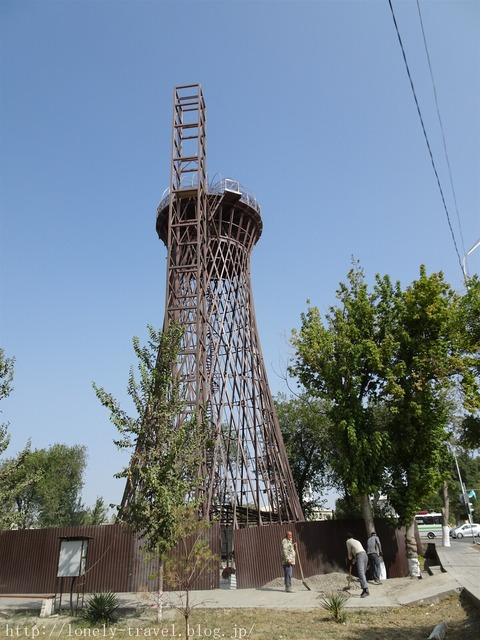 ブハラの水道塔