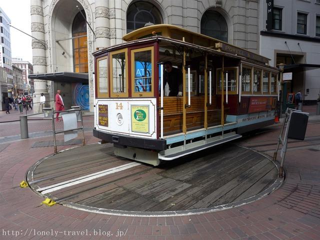 サンフランシスコのケーブルカー2