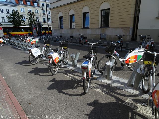 ワルシャワのレンタル自転車