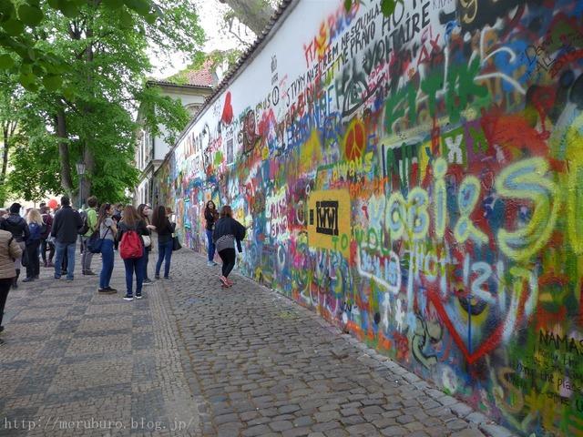 ジョン・レノンの壁 John Lennon Wall