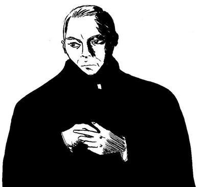 神父が良く似合う俳優、ホフマン!