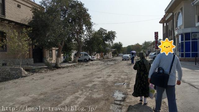 ブハラの道路