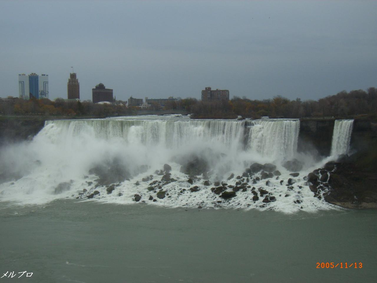 別視点からのアメリカ滝