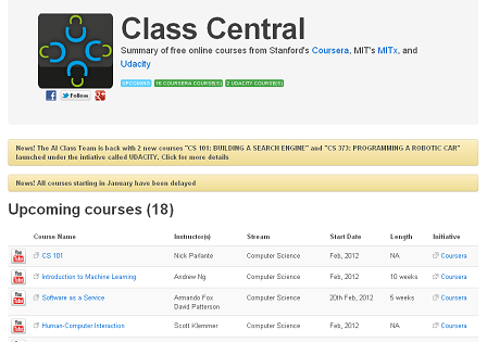 ClassCentral