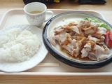 豚シャブ定食