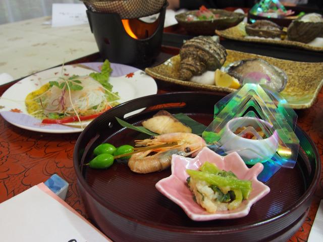 鈍川温泉 夕食(1)