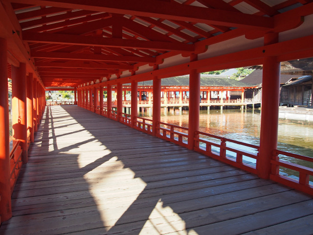 厳島神社 廻廊