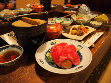 孫九郎 夕食