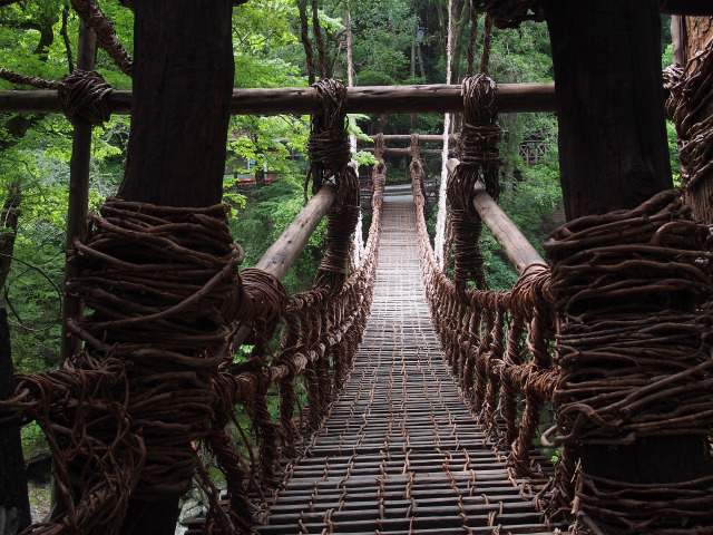 かずら橋(1)