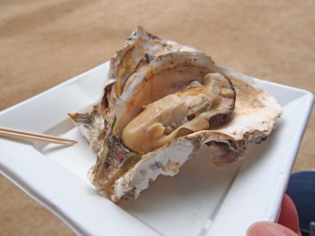 焼き牡蠣(2)