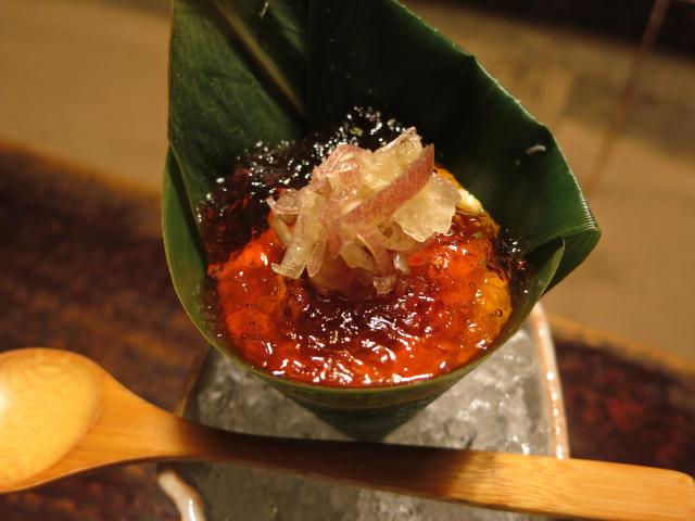 湯葉笹豆腐
