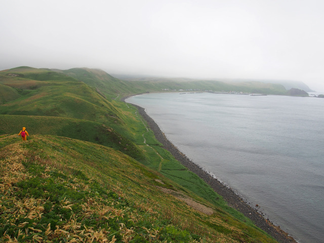 ゴロタ岬からの下り