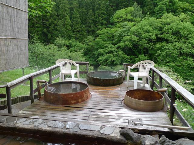 桶風呂・釜風呂(2)