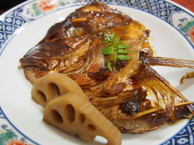 鈍川温泉 夕食(4)