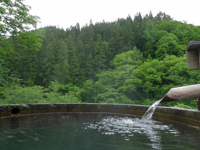 桶風呂から(1)