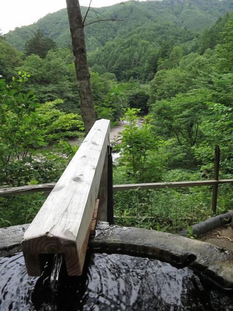 丸太風呂(2)