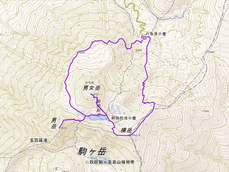 map-akitakoma