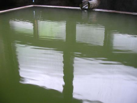五色温泉内湯のお湯