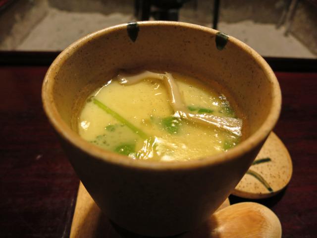 舞茸茶碗蒸し