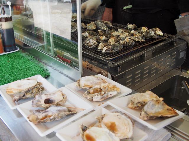 焼き牡蠣(1)