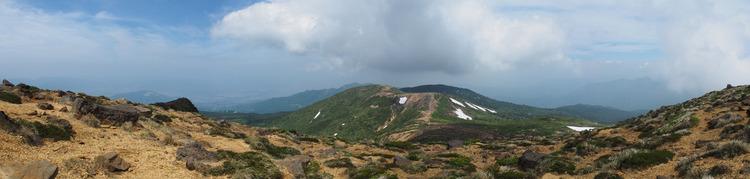 蔵王山頂パノラマ