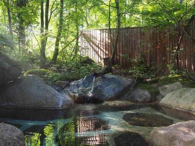 かつら木の郷 露天風呂